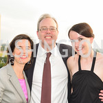 Maria-Luisa Escudero, Ralph Winnie Jr, Zsofia Budai, FAIR Girls, Rooftop Reception, The Willard, June 6, 2019, Photo by Ben Droz.
