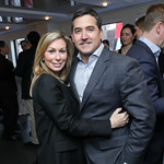 """Stephanie and Keith LemerPhoto by Tony Powell. Hilda Ochoa Brillembourg """"Delivering Alpha"""" Book Party. Cafe Milano. March 11, 2019"""