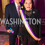 Nick Kotz , Mary Lynn Kotz. Photo by Alfredo Flores. Rightfully Hers American Women and the Vote opening reception. National Archives. May 8, 2019