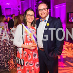 Sarah Waitz, Dorian Waitz. Photo by Alfredo Flores. Rightfully Hers American Women and the Vote opening reception. National Archives. May 8, 2019