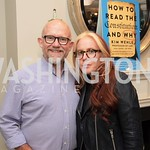 Rick Wilson, Molly Jong Fast. Photo by Yasmin Holman. Kim Wehle Book Event. Chevy Chase. 09.14.19
