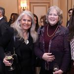 Barbara Hawthorn, Smitty Connolly. Photo by Tony Powell. 2019 Meridian New Ambassadors Reception. January 15, 2019