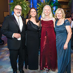 Steve Jabo, Catherine McCusker, Barbara Stauffer, Siobhan Starrs.  Photo by Alfredo Flores. National Museum of Natural History David H. Koch Hall of Fossils  Deep Time Members Preview Gala.  ...