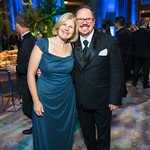 Siobhan Starrs, Steve Darrall.  Photo by Alfredo Flores. National Museum of Natural History David H. Koch Hall of Fossils  Deep Time Members Preview Gala. Smithsonian National Museum of Natu ...
