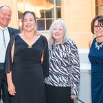 TJ Woosley, Carole Woosley, Becky Westerman, Frances Taylor . Photo by Alfredo Flores. National Museum of Natural History Leadership Circle Member Gala. Smithsonian National Museum of Natura ...