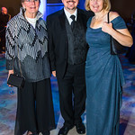 Sandra Loving, Steve Darrall, Siobhan Starrs.  Photo by Alfredo Flores. National Museum of Natural History David H. Koch Hall of Fossils  Deep Time Members Preview Gala. Smithsonian National ...