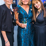 Susan Moeller, Heather Haaga, Maria Wilhelm. Photo by Alfredo Flores. National Museum of Natural History Leadership Circle Member Gala. Smithsonian National Museum of Natural History. June 6 ...