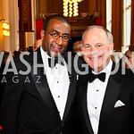 Eric Motley, Mack McLarty. Kennedy Center Spring Gala. Photo by Tony Powell. April 3, 2011