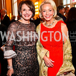 Marlene Malek, Amb. Mary Ourisman. Kennedy Center Spring Gala. Photo by Tony Powell. April 3, 2011