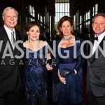 Joseph and Alma Gildenhorn, Catherine and Wayne Reynolds. Kennedy Center Spring Gala. Photo by Tony Powell. April 3, 2011