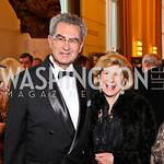 Dr. David Reines. Nina Totenberg. Kennedy Center Spring Gala. Photo by Tony Powell. April 3, 2011