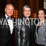 Mack McLarty, Janet Napolitano, Donna McLarty. Kennedy Center Spring Gala. Photo by Tony Powell. April 3, 2011
