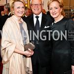 Gahl Burt, Martin Indyk, Ann Stock. Kennedy Center Spring Gala. Photo by Tony Powell. April 3, 2011