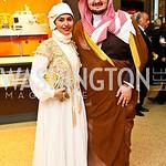 Princess Sara bint Saud bin Saad Al Saud and Prince Abdul-A...Photo by Tony Powell. Museum of Natural History. March 1, 2011