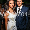 The Vampire Diaries' Nina Dobrev and Ian Somerhalder. Photo by Tony Powell. Bradley's Welcome Dinner for WHCD. Bradley residence. April 29, 2011