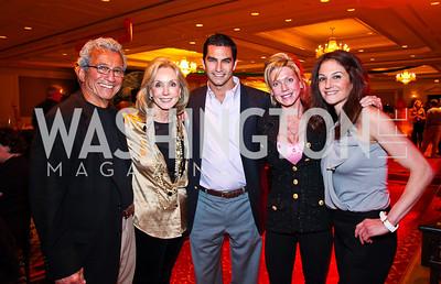 Dennis Assad, Annette Kerlin, Nick Assad, Laura Kerlin, Jennifer Assad. Every Kid's a Rock Star. Photo by Tony Powell. Ritz Carlton Tysons. February 27, 2011
