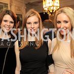Rachel Ryan, Miranda Frum, Martha Fortune. Fashion Takes Fl...ams Morgan Mansion. Photo by Alfredo Flores. January 28, 2011.