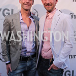 Gregory Lennon, Matt Angelo. Photo by Jersey Winchester. The Young and The Guest List Party. Long View Gallery and Rogue 24 Restaurant. May 20, 2011.
