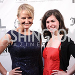 Anna Jones, Claire Mouledoux. Photo by Jersey Winchester. The Young and The Guest List Party. Long View Gallery and Rogue 24 Restaurant. May 20, 2011.