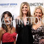 Danielle Karst, Lisa Ellman, Stephanie Baucus. Photo by Jersey Winchester. The Young and The Guest List Party. Long View Gallery and Rogue 24 Restaurant. May 20, 2011.