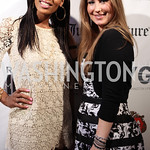 Courtney Cole, Joslyn McCluney. Photo by Jersey Winchester. The Young and The Guest List Party. Long View Gallery and Rogue 24 Restaurant. May 20, 2011.