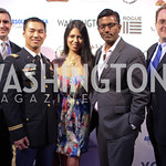 Tom Roberts, Francis Hoang, Christina Sevilla, Peter Cherukuri, Adam Sharp. Photo by Jersey Winchester. The Young and The Guest List Party. Long View Gallery and Rogue 24 Restaurant. May 20, ...