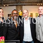 Erik Ulsaker, Sheldon Scott, Sean Ulsaker, Adam Winder. Photo by Tony Powell. The Young and the Guestlist. Longview Gallery. May 20, 2011