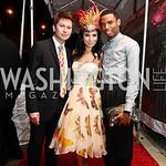 Teddy Kim, Aureta Thomollari, Dwayne Brice. Photo by Tony Powell. The Young and the Guestlist. Longview Gallery. May 20, 2011