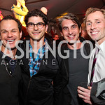 James Alefantis, Paul Farber, Christopher Lunch, Jared Nelson. Photo by Tony Powell. The Young and the Guestlist. Longview Gallery. May 20, 2011