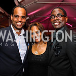 Ed and Chinyere Hubbard, Andre Wells. Photo by Tony Powell. The Young and the Guestlist. Longview Gallery. May 20, 2011