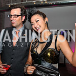 Michael Clements and Anchyi Wei-Clements. Photo by Tony Powell. The Young and the Guestlist. Longview Gallery. May 20, 2011