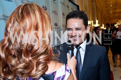 Jesse Garcia. Photo by Tony Powell. 2014 Noche de Gala. Mayflower Hotel. October 1, 2014