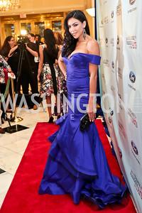 Ivette Saucedo. Photo by Tony Powell. 2014 Noche de Gala. Mayflower Hotel. October 1, 2014
