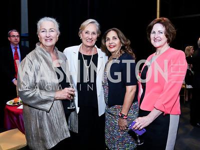 Joan Tobin, Susan Magee, Samia Farouki, Theresa Loar. Photo by Tony Powell. 2014 Vital Voices Global Leadership Awards. Kennedy Center. June 17, 2014