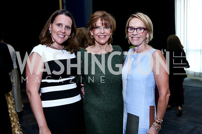 Kristen Weed, Susam Davis, Marcia Carlucci. Photo by Tony Powell. 2014 Vital Voices Global Leadership Awards. Kennedy Center. June 17, 2014