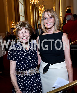 Bitsey Folger, Monica Scott. Photo by Tony Powell. 2014 Vital Voices Global Leadership Awards. Kennedy Center. June 17, 2014