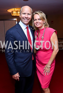 Rep. John Delaney and April Delaney. Photo by Tony Powell. 2014 Vital Voices Global Leadership Awards. Kennedy Center. June 17, 2014
