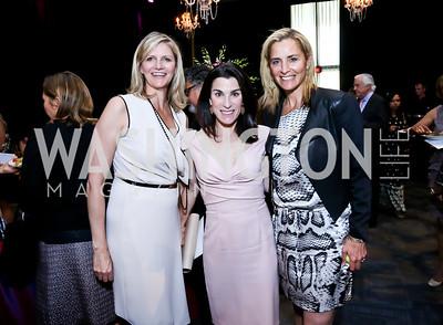 Caroline Cunningham, Tracy Bernstein, Ami Aronson. Photo by Tony Powell. 2014 Vital Voices Global Leadership Awards. Kennedy Center. June 17, 2014