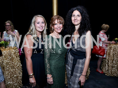Alison Kluh, Susan Davis, Luisella Meloni. Photo by Tony Powell. 2014 Vital Voices Global Leadership Awards. Kennedy Center. June 17, 2014