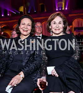 Alma Powell, Alma Gildenhorn. Photo by Tony Powell. 30th Annual Helen Hayes Awards. Building Museum. April 21, 2014