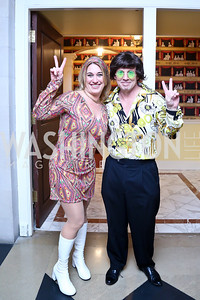Valarie and Boe Young. Photo by Tony Powell. Beatles Tribute Party. British Ambassador's residence. February 8, 2014