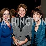 Diane Stewart, Nancy O'Neall, Liddy Doggett. Photo by Tony Powell. LBJ Liberty Awards Dinner. Newseum. November 18, 2014