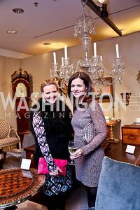 Sassy Jacobs, Susan Dowhower. Photo by Tony Powell. The Washington Winter Show. Katzen Center. January 9, 2014