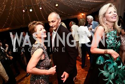 Dorothy Kosinski and Thomas Krähenbühl. Photo by Tony Powell. Cafritz Welcome Back from Summer. September 5, 2015