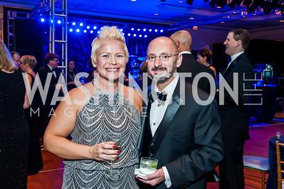 Kelly and Thomas Conrads. Photo by Tony Powell. 2015 INOVA Gala. October 10, 2015