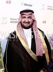 Prince Abdul bin Talal Abdul-Aziz al Saud. Photo by Tony Powell. Mentor Foundation USA International Gala. Mayflower Hotel. September 22, 2015