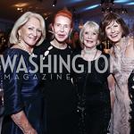 Maggie Shannon, Daris Alloy, Linda Rosecan, Dagmar Wittmer. Photo by Tony Powell. 2015 NSO Season Opening Ball. September 20, 2015