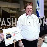 Royal Danish Embassy Chef Lars Besse. Photo by Tony Powell. 2015 Embassy Chef Challenge. Reagan Building. May 20, 2015