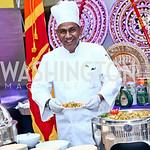 Embassy of Sri Lanka Chef T. Buran. Photo by Tony Powell. 2015 Embassy Chef Challenge. Reagan Building. May 20, 2015