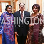 Niger Amb. Hassana Alidou, Cameroon Amb. Joseph Foe-Antangana. Photo by Tony Powell. An Afternoon Tea. Coopersmith Residence. June 25, 2015